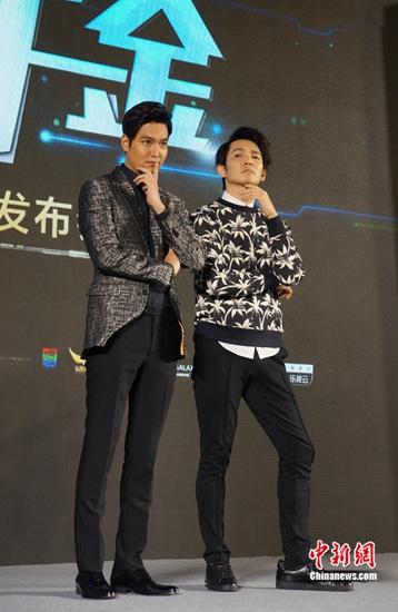 [热点新闻]李敏镐兑现诺言赴华拍电影 钟汉良甩偶像包袱搞笑