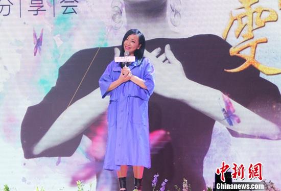 [热点新闻]邓萃雯:我觉得人生不能有遗憾(图)