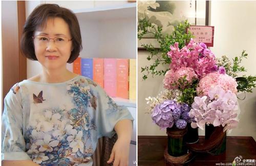 [有意思]蒋勤勤献花祝福琼瑶78岁大寿 晒旧照灵气逼人