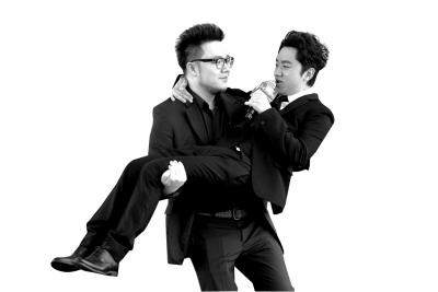 北京卫视《跨界歌王》现场飙歌 巴图公主抱王祖蓝 [有意思]