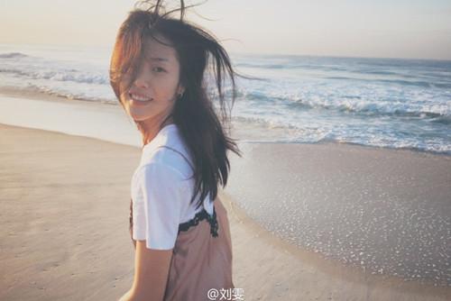 刘雯看日出晒美照网友:漂亮的人都已经醒来