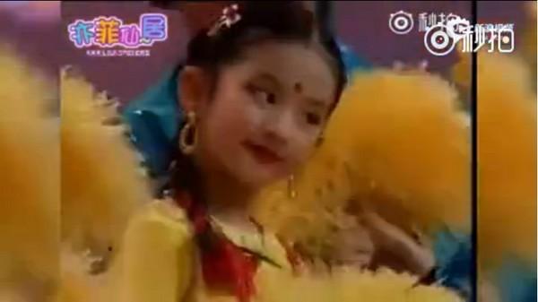 刘亦菲小学跳舞视频曝光 笑容甜美动作妩媚