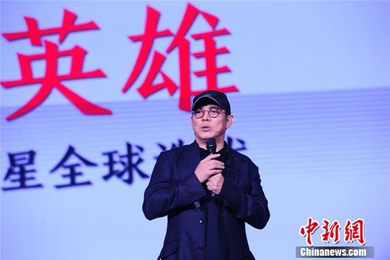 吴奇隆现身安徽卫视推介李连杰登陆真人秀市场