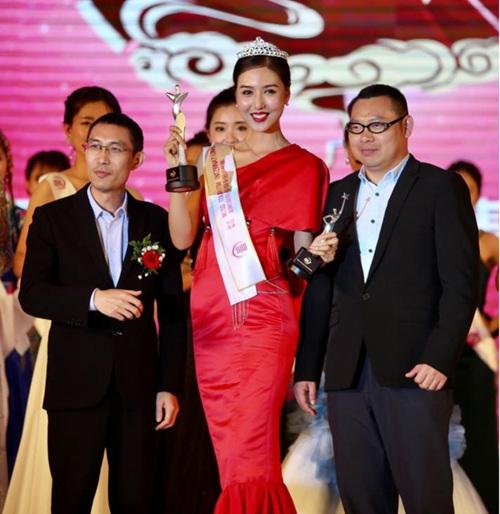 河南姑娘张锐获2016MTI世界旅游小姐总决赛季军