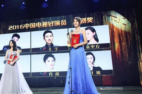 """艾晓琪成就青衣斩获""""中国电视好演员""""奖"""