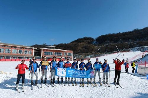 太子岭滑雪场国际超模新年趴落幕现场震撼