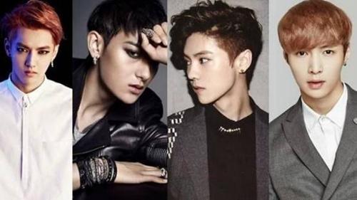 """盘点EXO""""四鲜肉""""2016表现:定位不同各领风骚"""