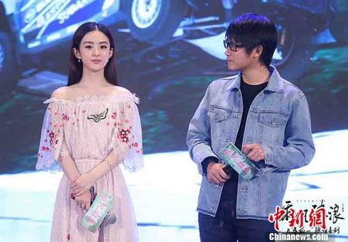 """赵丽颖被新片""""婚礼""""戏份感动:配音时大哭"""