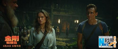 《金刚:骷髅岛》发预告金刚人类王者争霸