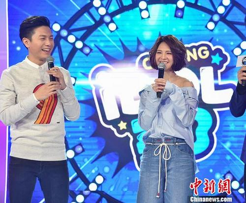 郭静与韦礼安同台竞技演绎数首经典歌曲