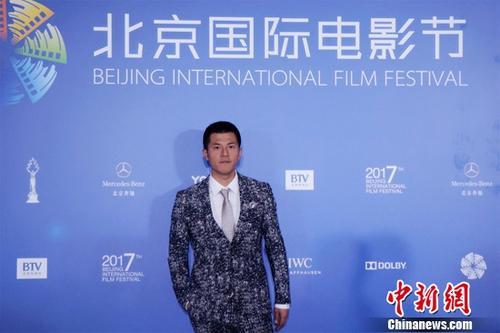 演员王铮亮相北京电影节转战大荧幕受期待