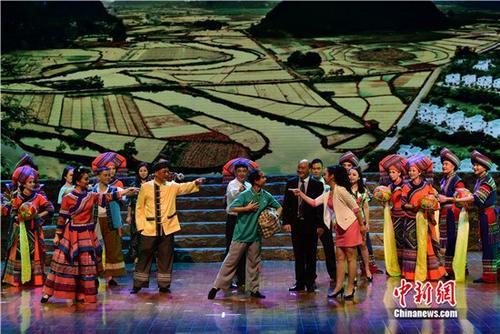 广西现代壮剧《第一书记》走进北京
