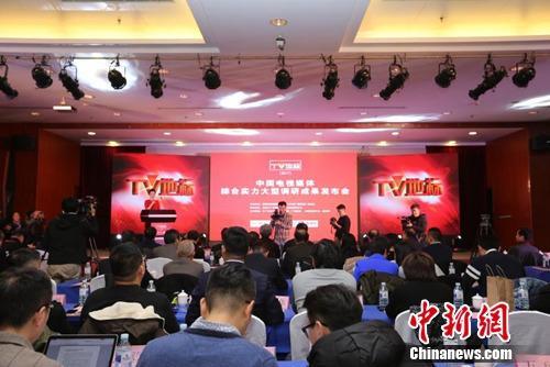 TV地标(2017)中国电视媒体综合实力调研成果发布