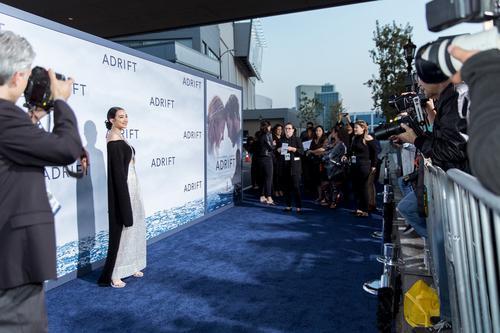 张天献唱好莱坞大片《Adrift》推广曲 传递坚强勇气