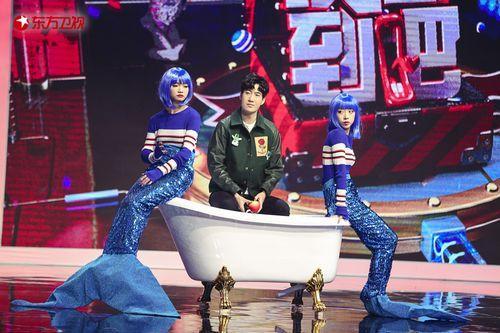 """《没想到吧》迎来《天气预爆》剧组王祖蓝变""""鸡蛋超人"""""""