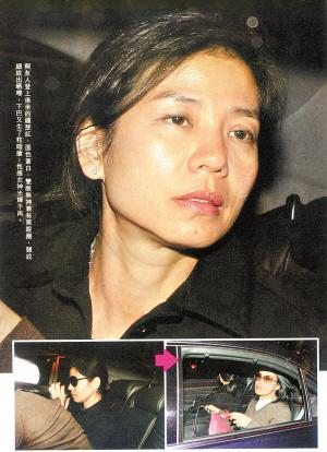 当下午,香港媒体拍到红姑与友人外出的场景,虽然红姑难掩一身星味