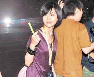 容祖儿/因阿娇涉不雅照而取消Twins演唱会,结果阿Sa变成观众。