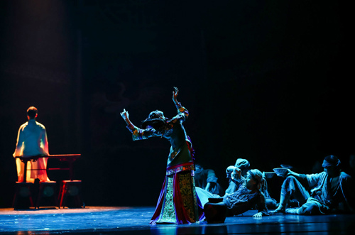 舞剧《江湖》国家大剧院上演,小人物形象演绎大