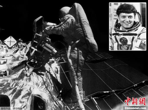 首位举行太空行走的女性:萨维茨卡娅