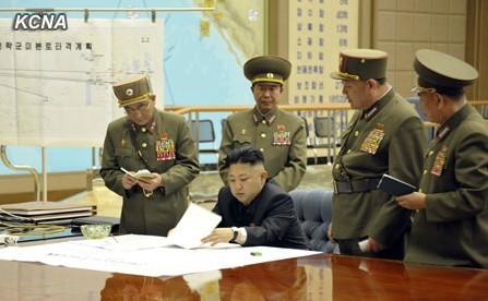 据朝中社报道,金正恩29日凌晨在紧迫会议上作出唆使