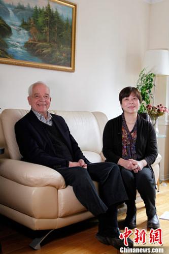 加拿大新任驻华大使麦家廉聊中国情缘:是中国女婿