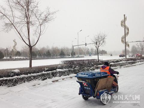 """中东部雨雪降温齐至 春运返程顶峰""""添堵"""""""