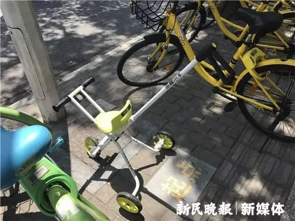 共享遛娃小车现身上海 首批投放500辆押金99元