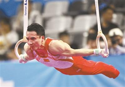 Gymnastic sword refers to Tokyo, the Chinese men's team is not