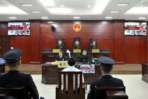 """""""严书记""""受贿案一审开庭被控受贿572.9万余元"""