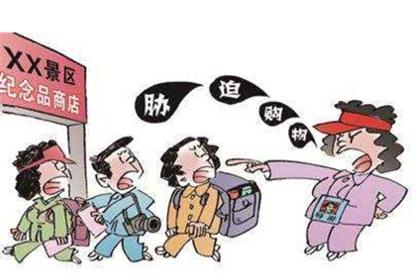 """强迫游客消费 北京两旅行社涉嫌雇用""""黑导""""被查"""