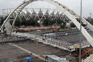 印度孟买发生人行天桥垮塌事故造成5人