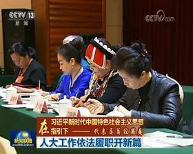 代表委员议国是:人大工作依法履职开新篇
