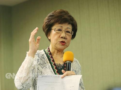 台媒:吕秀莲宣布退出民进党 称道不同不相为谋